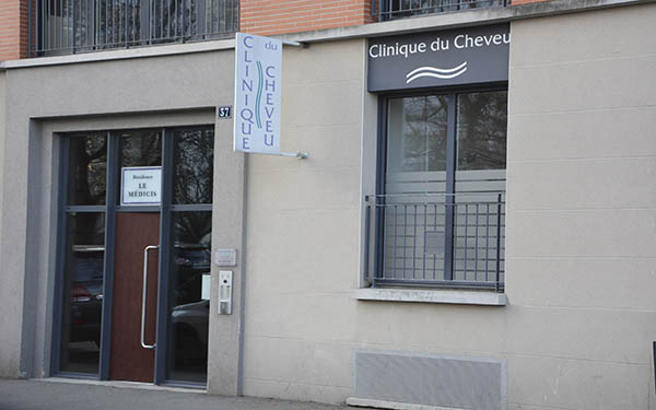 Clinique du cheveu-Facade